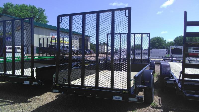 2020 Doolittle Trailer Mfg 660 Series Single Axle 3K 10FT SS Utility Trailer