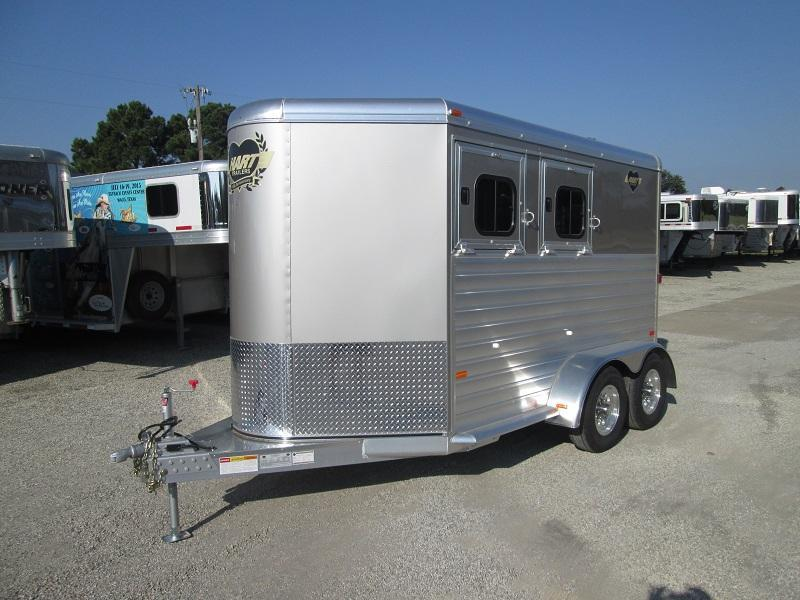 2018 hart trailers 2h bp horse trailer over 150k trailers for sale