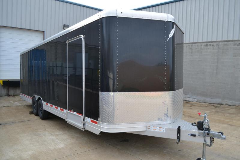 2014 Featherlite  Aluminum 28 car hauler Car / Racing Trailer