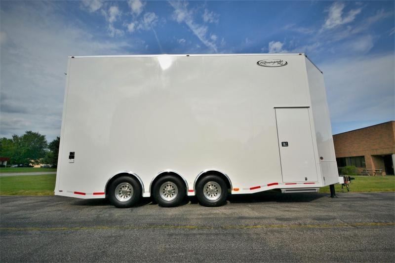 2018 Renegade Aluminum 25 Stacker AV25R Car / Racing Trailer