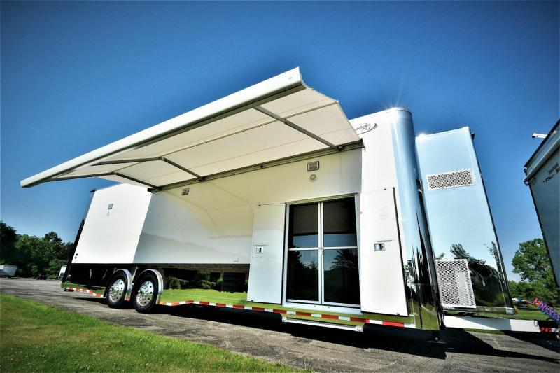 2018 Renegade Liftgate 36 Stacker Trailer Custom Race