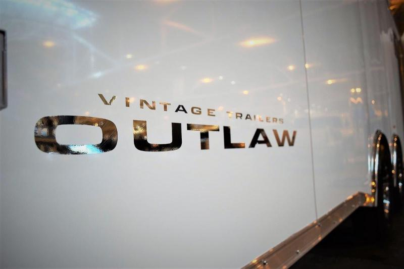 2017 Vintage Trailers custom 28 Outlaw Car / Racing Trailer