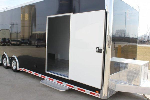 2017 inTech Trailers 34 Custom InTech Tag Triple Axle 8.5 interior height All Aluminum Car / Racing Trailer