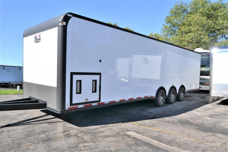 2018 Vintage Trailers 32 Outlaw BlackHawk Car / Racing Trailer