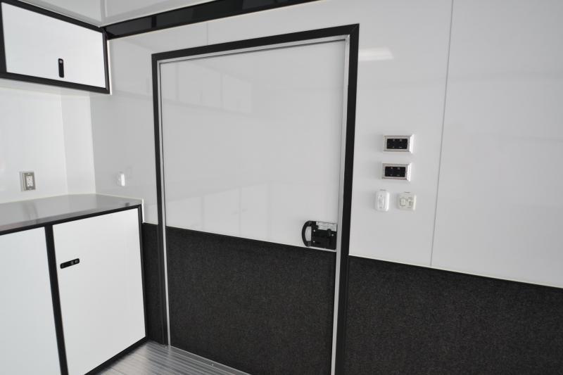 2019 inTech 24 Intech Icon w/ Full Access escape door - Black anodized pkg   Car / Racing Trailer