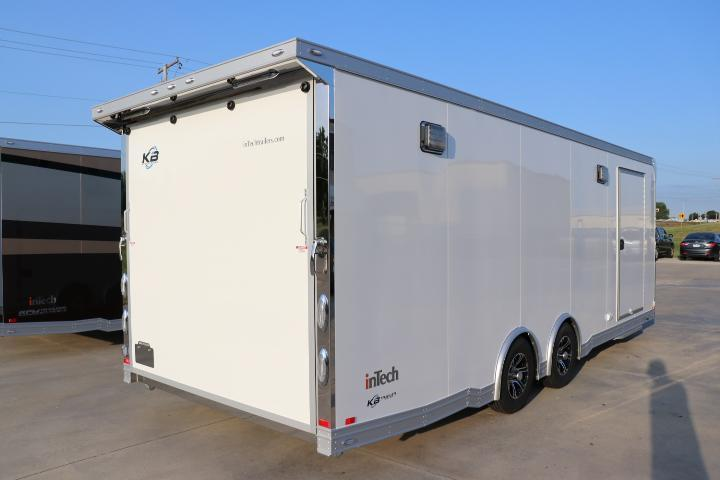 2019 inTech 24 Intech Icon w/ Full Access escape door - Black anodized pkg   Car / Racing Trailer