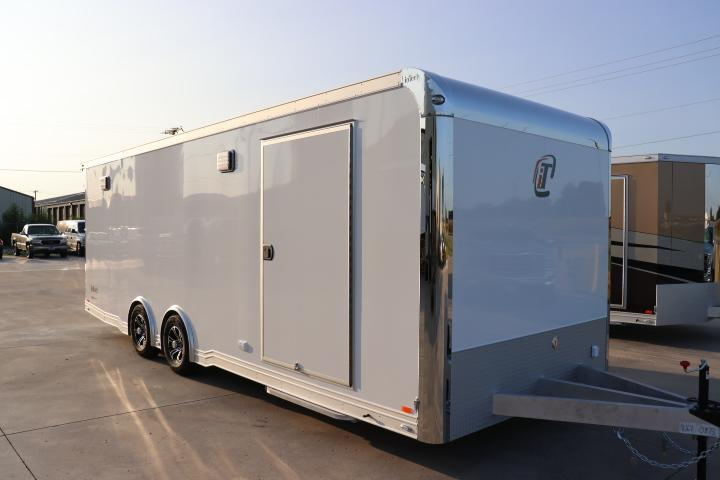 2019 inTech Trailers 24 Intech Icon w/ Full Access escape door - Black anodized pkg   Car / Racing Trailer