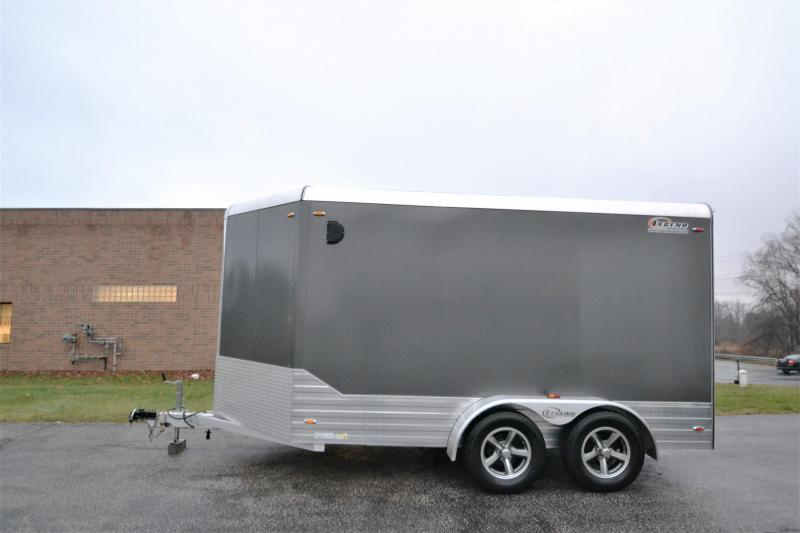 2014 Legend Trailers 2014 Legend Deluxe V Nose 15 4' Car / Racing Trailer