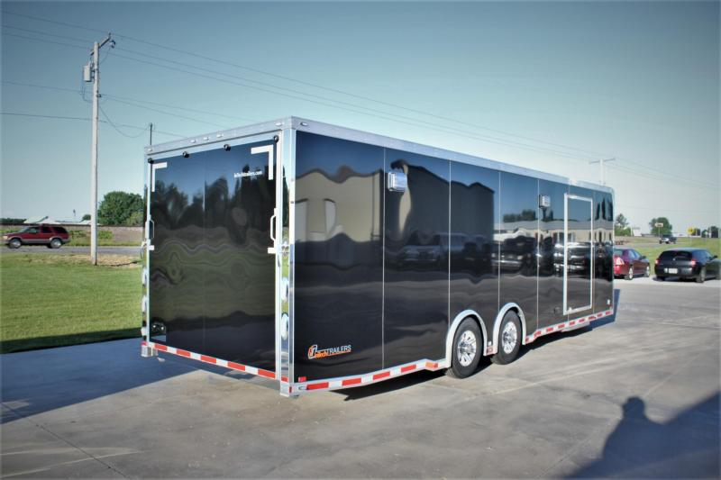 2017 inTech Trailers 28 Icon Aluminum  Car / Racing Trailer