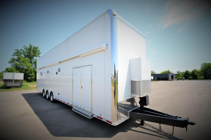 2018 Vintage Trailers 38 Stacker Elite Car / Racing Trailer