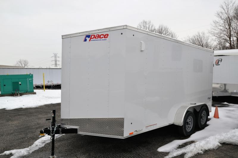 2019 Pace American 7x14 Outback Cargo DLX Enclosed Cargo Trailer