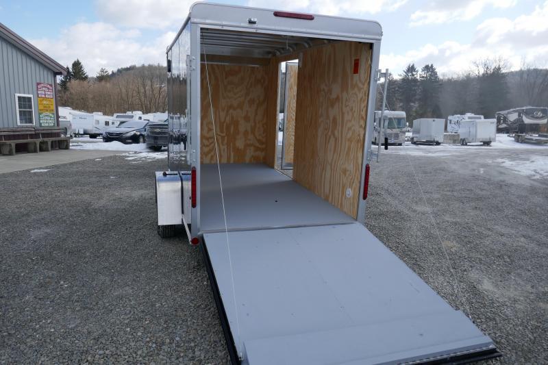 2019 Car Mate Trailers CM612CC -6W Single Axle Custom Cargo Trailer Enclosed Cargo Trailer