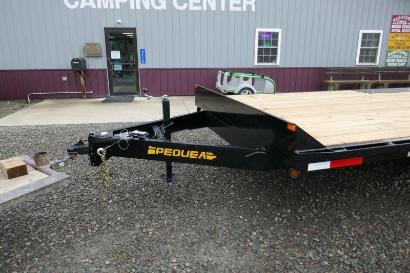 2019 Pequea  Deck Over 20' Equipment Trailer