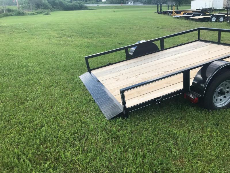 2019 Pequea 610T Tilt Deck Utility Landscape Trailer