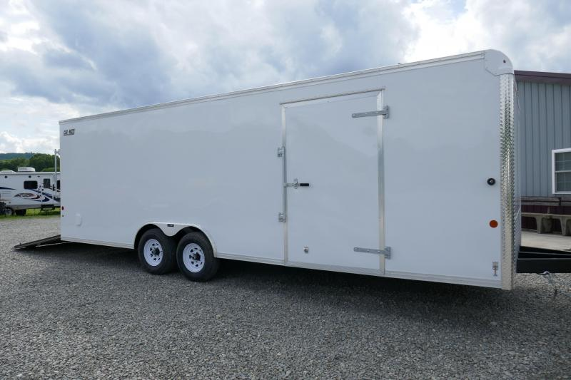 2019 Car Mate Trailers CM824C-CT Car / Racing Trailer
