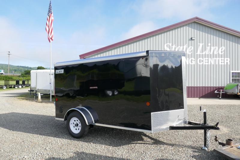2020 Car Mate Trailers CM510LS Single Axle Enclosed Cargo Trailer