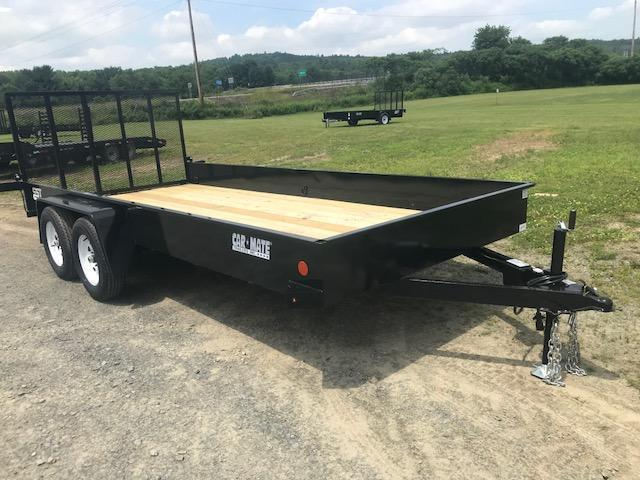 2017 Car Mate CM618SST-HD/W Steel Side Utility Trailer