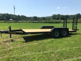 2018 Pequea 1018SST Equipment Trailer