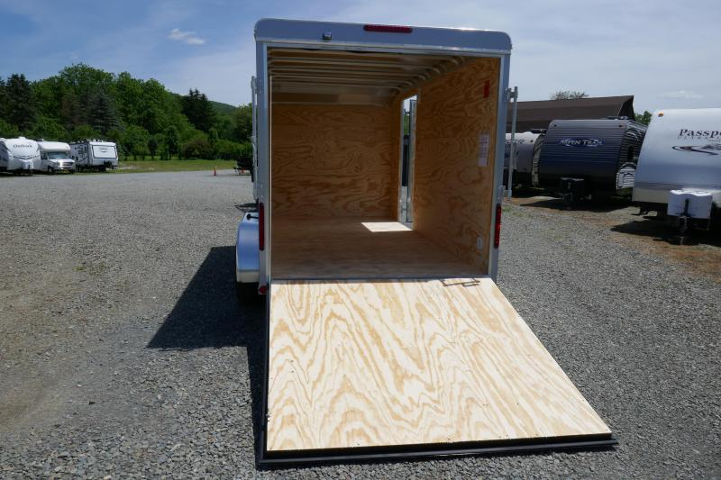 2019 Car Mate Trailers CM714EC-HD Tandem Axle Enclosed Cargo Trailer