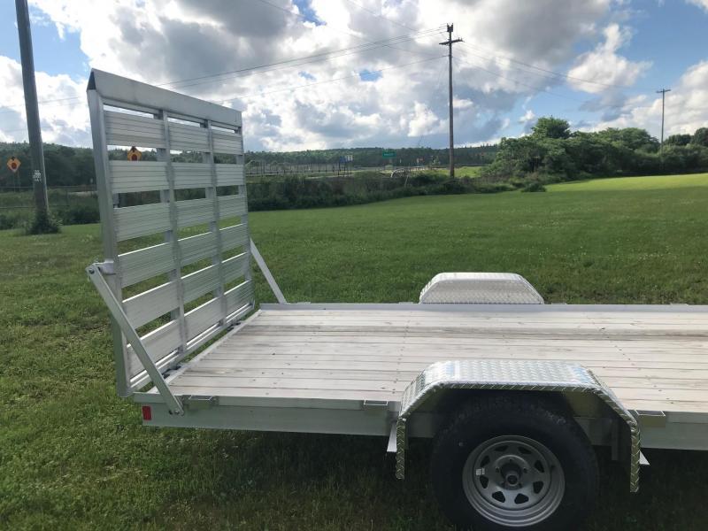 2017 Worthington UTZ-7614-RAMP Aluminum Utility Trailer
