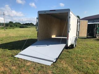 2018 Car Mate CM716CC-HD Custom Cargo Trailer