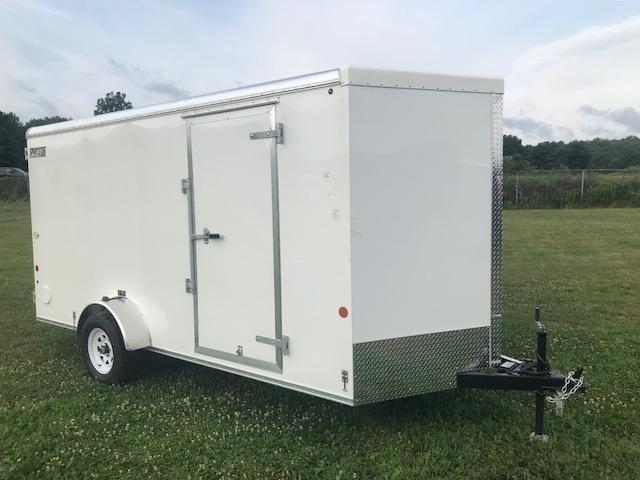 2018 Car Mate CM714LS Liberty Sport Enclosed Cargo Trailer