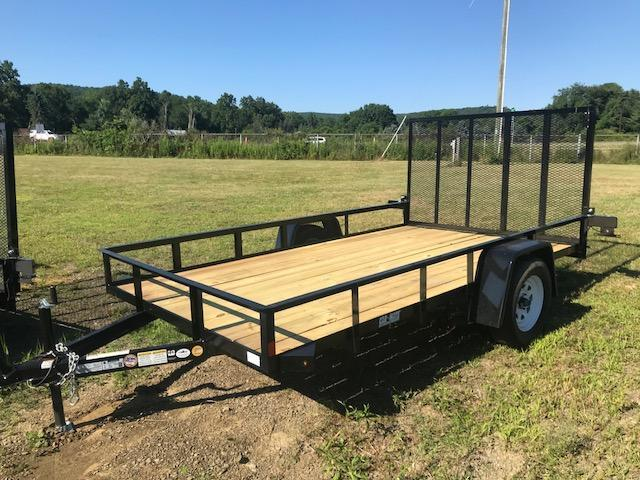 2018 Car Mate CM612A/W Landscape Trailer