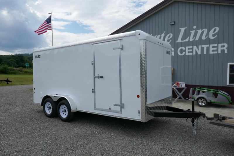 2019 Car Mate Trailers CM716CC-HD - 7'W Tandem Axle Custom Cargo Trailer Enclosed Cargo Trailer