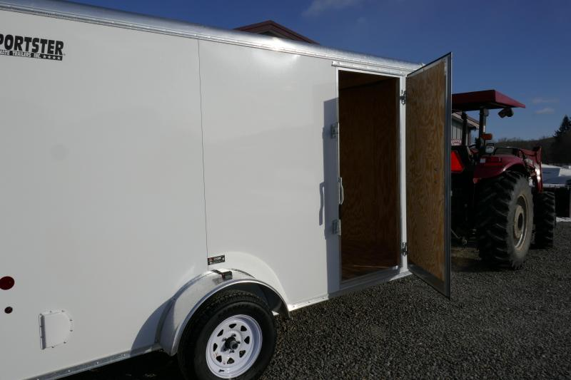 2019 Car Mate Trailers CM612ECV Single Axle Enclosed Cargo Trailer