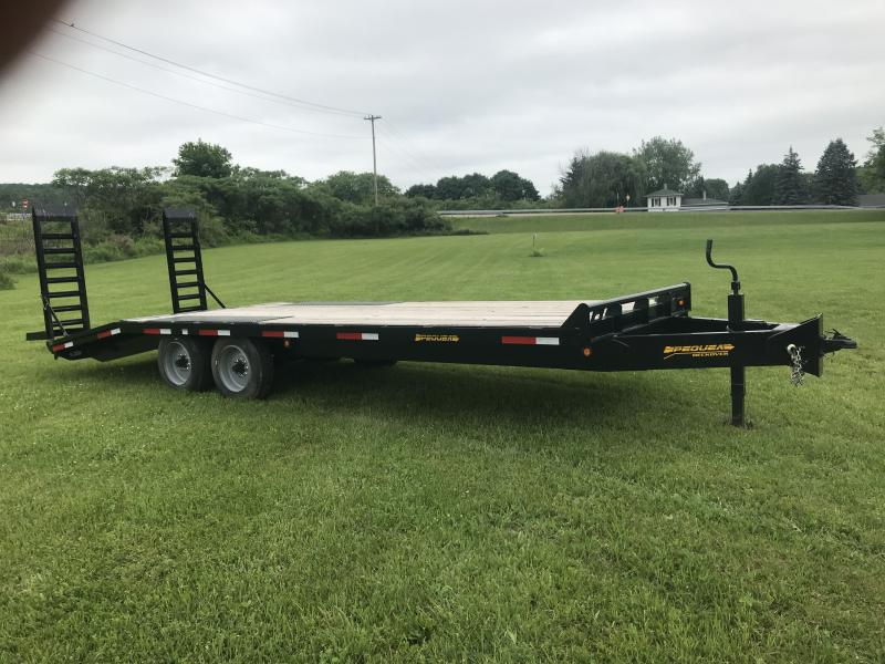 2017 Pequea 1018DO Equipment Trailer