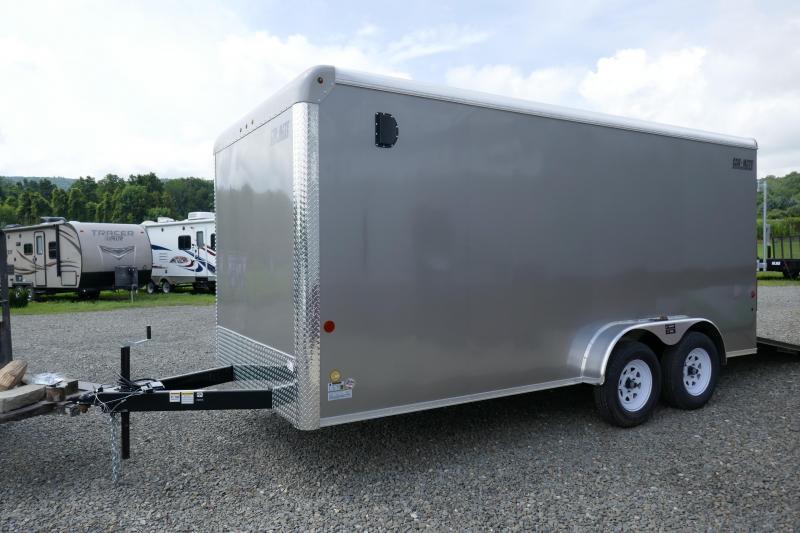 2019 Car Mate Trailers CM716CC-HD - 7'W Tandem Axle Custom Cargo Trailer Enclosed Cargo Trailer