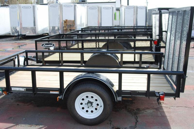 "Get Ready for Spring!  5' x 10' Utility Trailer with Tongue box and 48"" ramp gate."