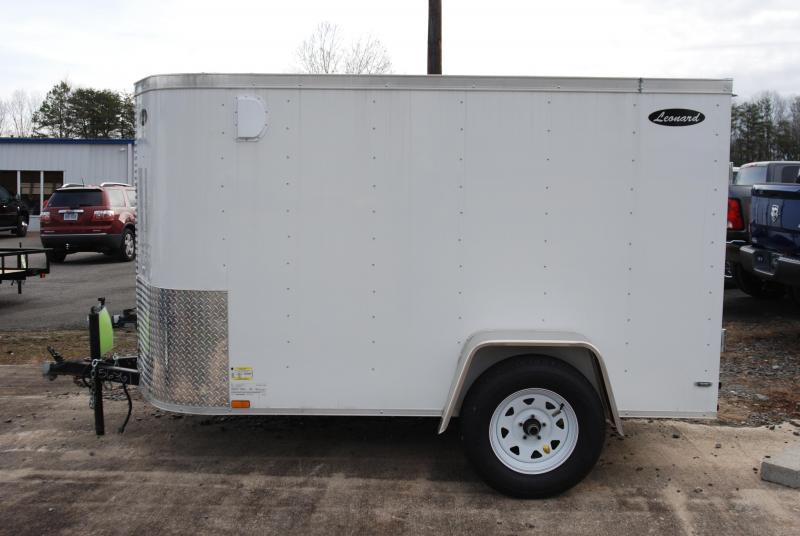 5 x 8 SIngle-Axle Cargo Trailer. Aluminum body with V-Nose. Built to last!  in Marietta, SC