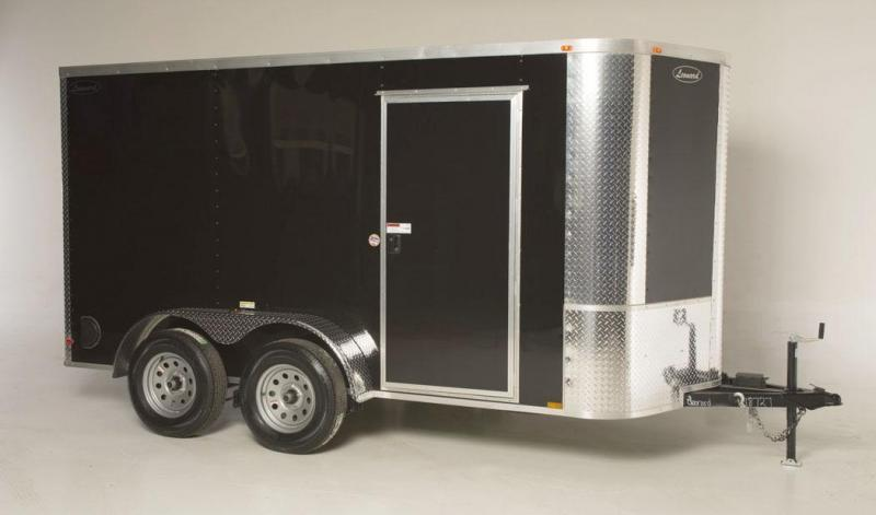 6x12 Tandem-Axle Cargo Trailer. Aluminum body with V-Nose. Built to last!  in Plum Branch, SC