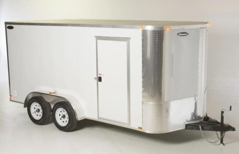 7 x 14 Tandem-Axle Cargo Trailer. Aluminum body with V-Nose. Built to last!  in Russellville, SC