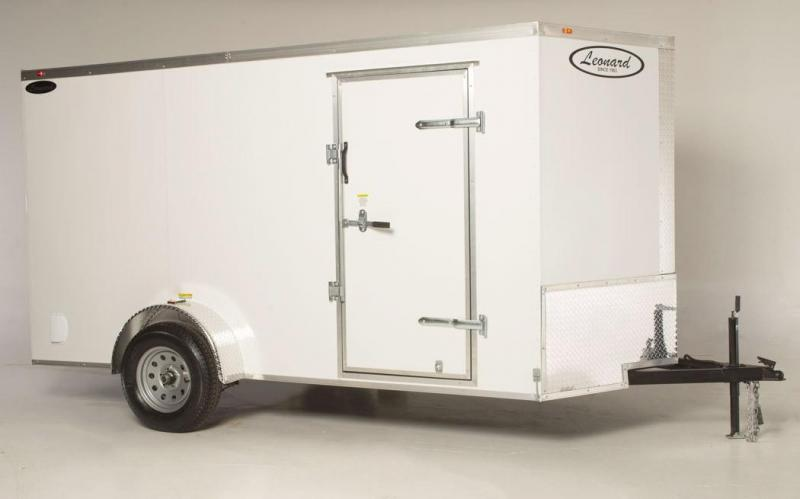 All-purpose enclosed trailer - great for motorcycles - ATVs and more....6x12 SIngle-Axle Cargo Trailer