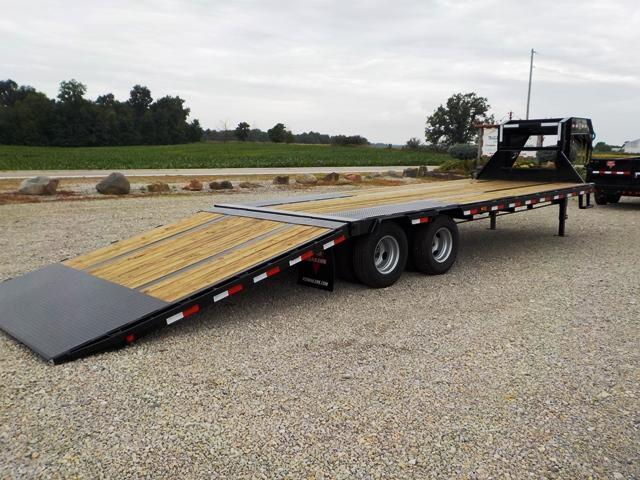 2020 PJ Trailers LYR30T2BSSO Equipment Trailer