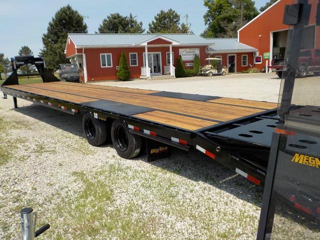 2020 Big Tex Trailers 25GN 35 5 BK MR Equipment Trailer
