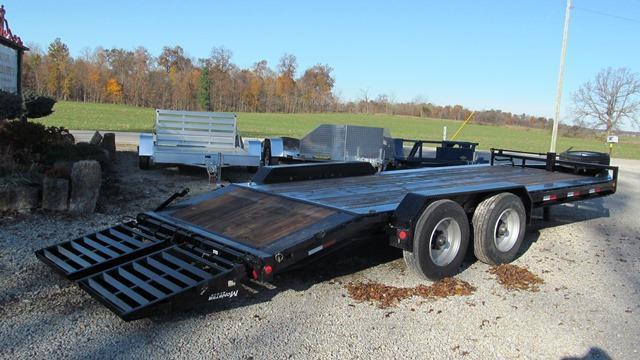 2019 PJ Trailers H5B20S2BT50 H.D. Lo-Pro Equipment Trailer