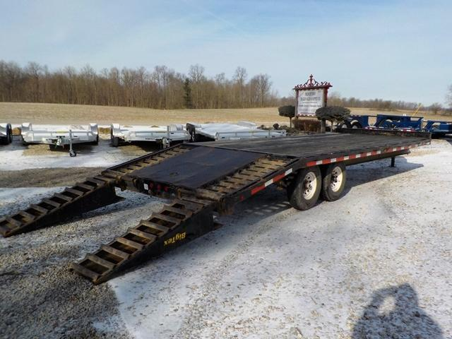 2004 Big Tex Trailers 14PH 20' + 5' Equipment Trailer