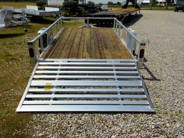 2020 Quality Steel and Aluminum 8012 ALDX3.5KSA Utility Trailer