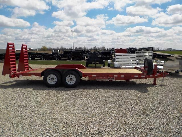 2019 Trailerman Trailers Inc. CST 7182 S 14 Equipment Trailer