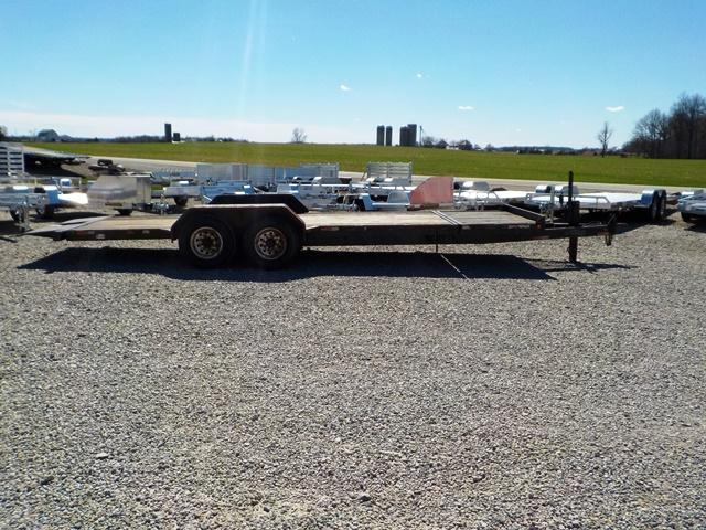 2002 Titan Trailers 83 x 20 Equipment Trailer