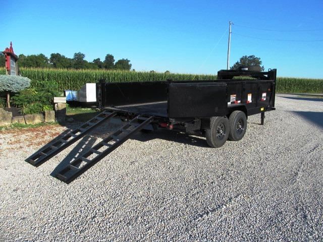 2019 Big Tex Trailers 14GX-16BK7SIRPD Dump Trailer