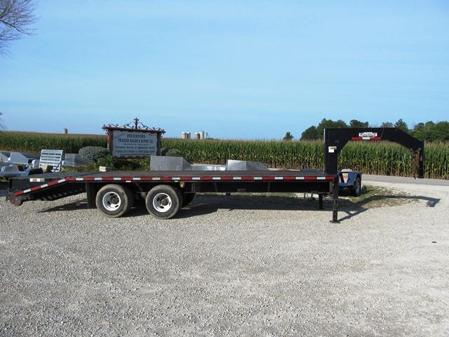 2005 Wilson Trailer Company GN 2525CT Equipment Trailer **USED** in Ashburn, VA