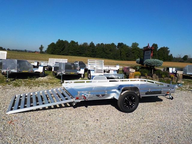2019 Aluma 7712 H-SLR Utility Trailer