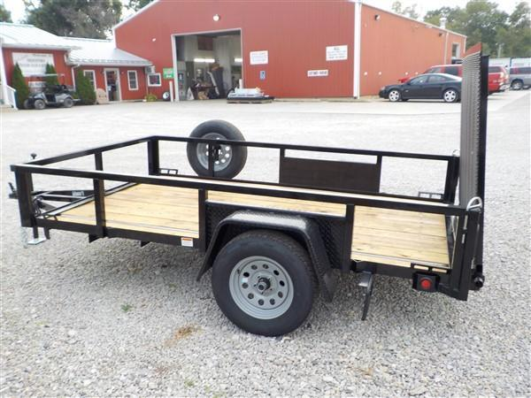 2020 Quality Steel and Aluminum 7410 AN SA Utility Trailer