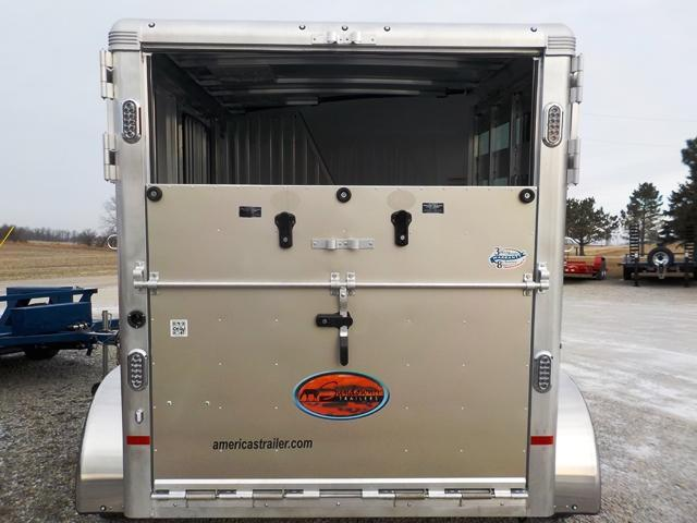 2018 Sundowner Trailers Sunlite SS 2H BP Horse Trailer