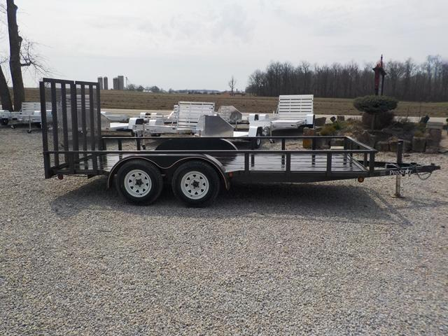 2007 PRO STAR LS71607WGGR Utility Trailer
