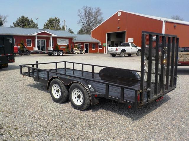 2007 PRO STAR LS71607WGGR Utility Trailer **USED**